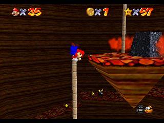 Super Mario 64 (et DS) : 7 - Laves fatales (Leathal Lava Land)' title