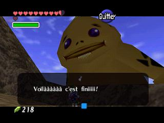 Zelda Ocarina Of Time Master Quest : L'épée de Biggoron (Big Goron)