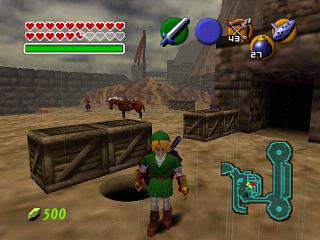 Zelda Ocarina Of Time : Les grottes secrètes' title='Zelda Ocarina Of