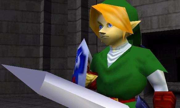 Zelda ocarina of time les personnages principaux for Housse zelda