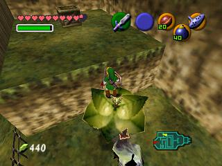 Zelda Ocarina Of Time Master Quest : Les trous à haricots