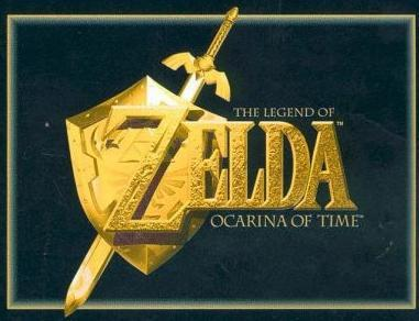 La boite du jeu : the legend of Zelda ocarina of time sur nintendo64