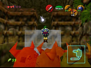 Zelda Ocarina Of Time Master Quest sur Game Cube : Caverne Dodongo