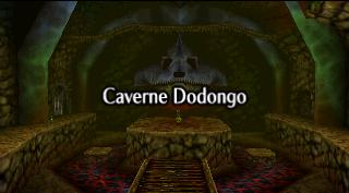 Zelda Ocarina Of Time Master Quest sur Game Cube - Caverne Dodongo
