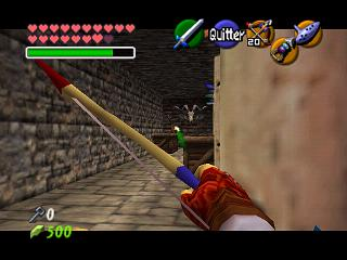 Zelda Ocarina Of Time Master Quest sur Game Cube : Chez les Gerudos