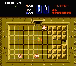 Zelda 1 - Zelda 1 - Item of second quest of the legend of Zelda