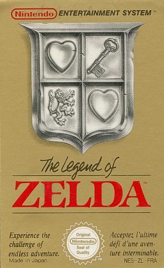 The Legend of Zelda Zelda1_Cartouche