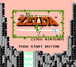 The Legend Of Zelda ( NES )  ZeldaI_LegendOfZelda_Titre