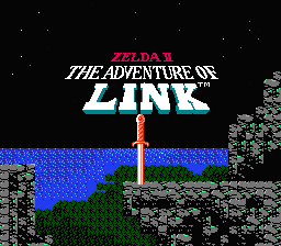 Adventure Of Link ( NES ) Zelda2_EcranTitre