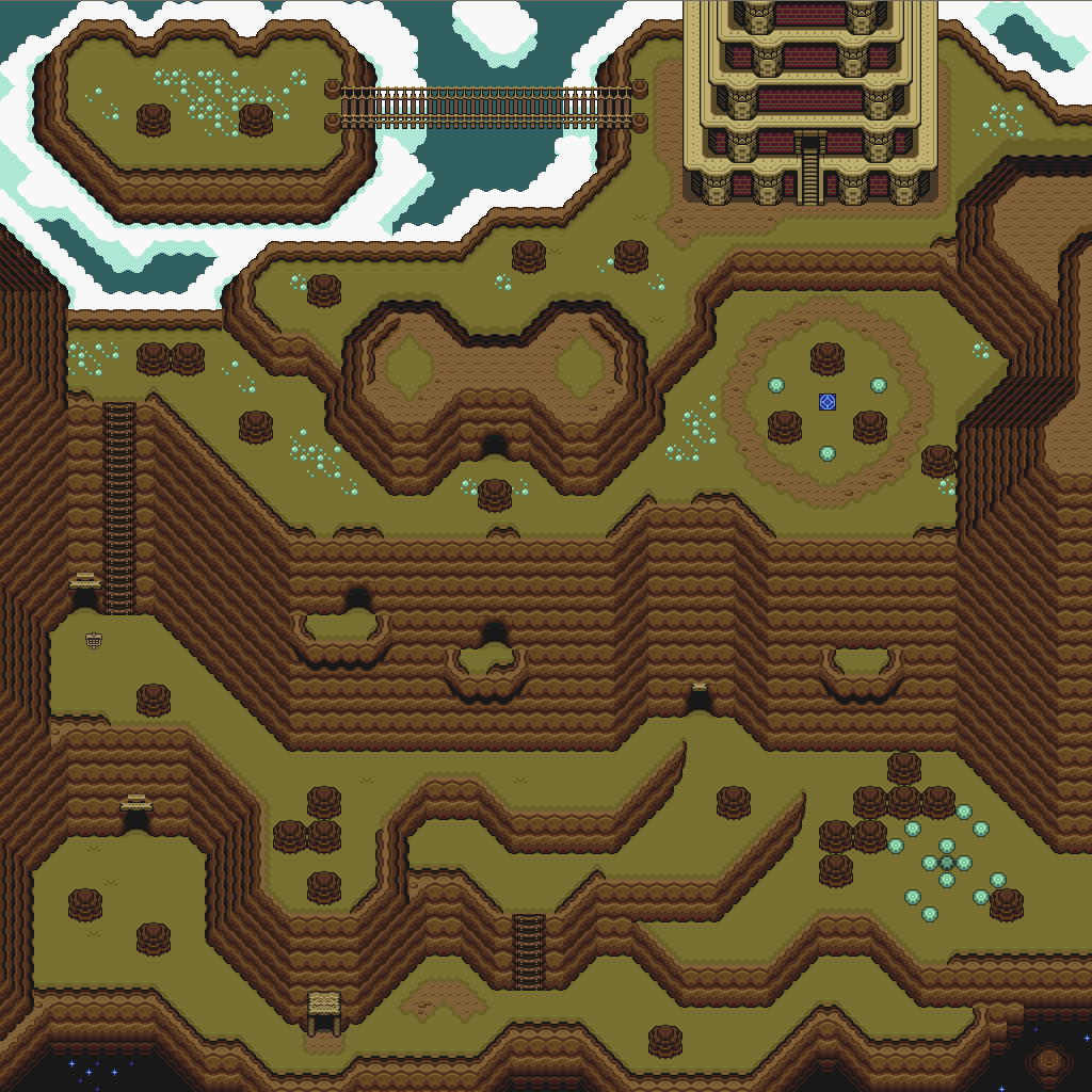 Link To The Past Light World Map.Zelda 3 Alttp Super Nes Light World Map Of Zelda Iii A Link To The